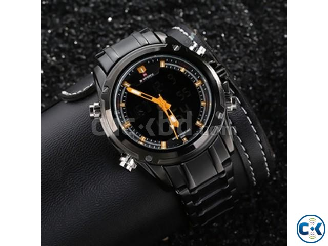 NAVIFORCE 9050 Full Steel Military Sport Watch | ClickBD large image 2