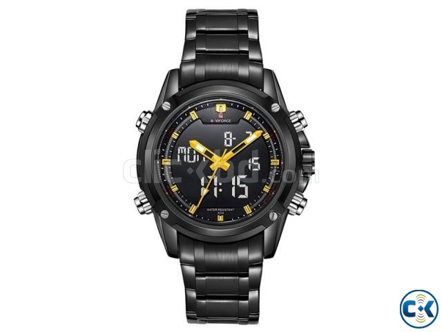 NAVIFORCE 9050 Full Steel Military Sport Watch | ClickBD large image 3