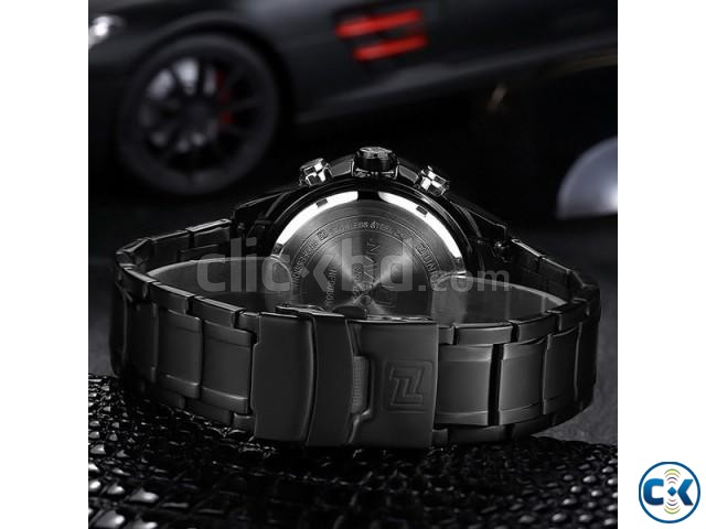 NAVIFORCE 9050 Full Steel Military Sport Watch | ClickBD large image 4