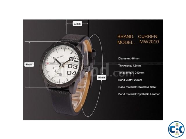 CURREN 8125 Military Sports Watch | ClickBD large image 2
