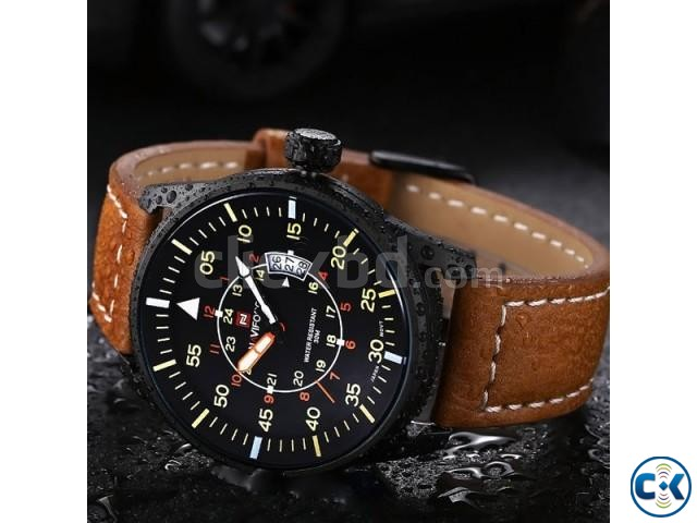 NAVIFORCE NF9044 Quartz Men Watch | ClickBD large image 0