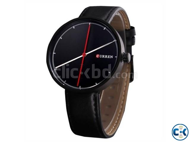 Curren 8223 Two Hands Wrist Watch | ClickBD large image 0