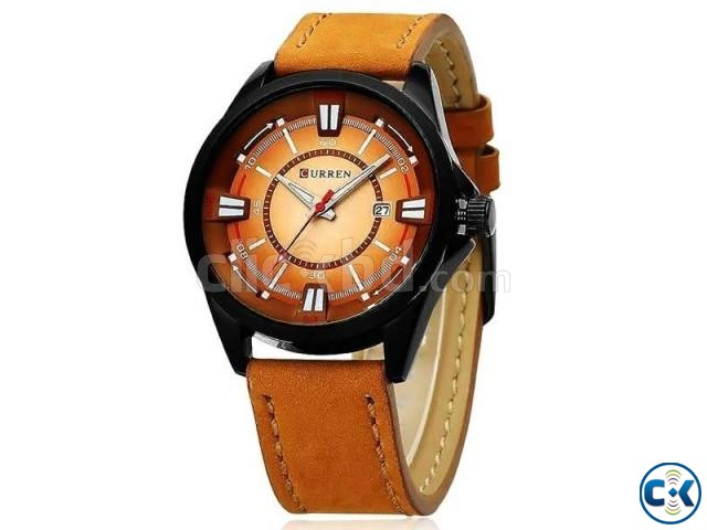 Curren Light Brown Date Just Watch | ClickBD large image 0