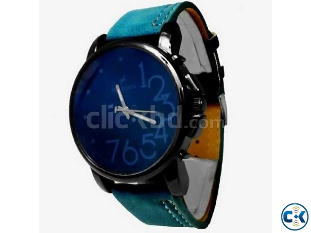 Fastrack Men s Wrist Watch - Blue | ClickBD large image 0