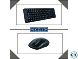 Logitech mk-220 Wireless Mouse Keyboard Combo