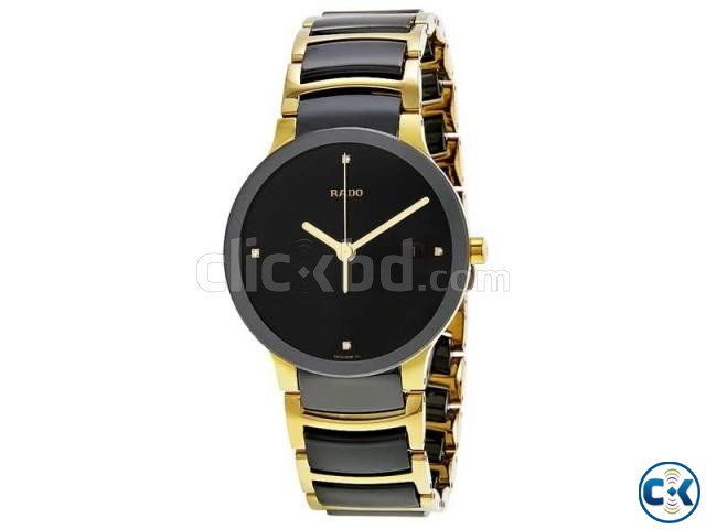 Rado Two Tone Chain Black Dialer | ClickBD large image 0