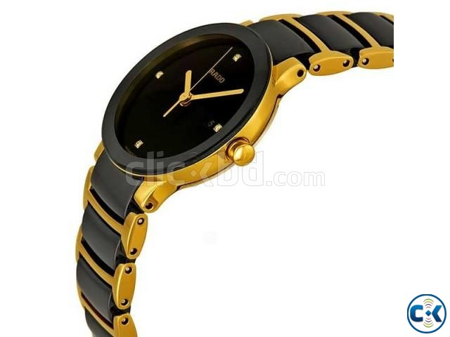 Rado Two Tone Chain Black Dialer | ClickBD large image 1
