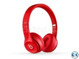 Beats Dr Dre Solo 2 Wired Headphone Red