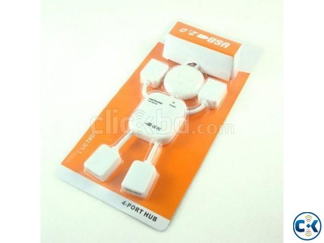 Man Shape 4 Ports USB 2.0 HUB | ClickBD large image 1