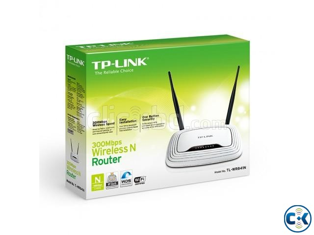 TP-Link TL WR841N Wireless N Router | ClickBD large image 2