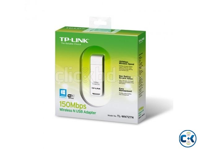 TP-Link TL-WN727N Wireless Adapter | ClickBD large image 1