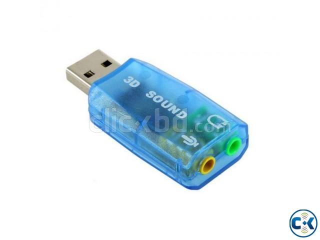 USB Sound Card Adapter | ClickBD large image 1