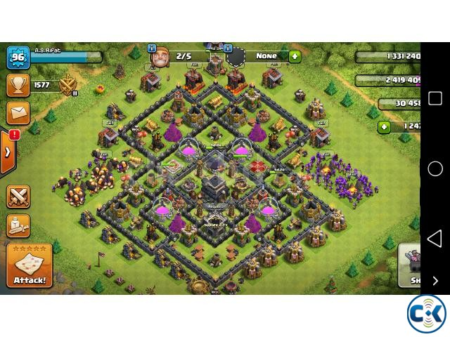 Clash of Clans semi max Th9 | ClickBD large image 1