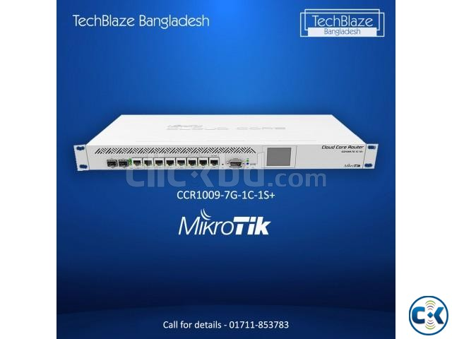Mikrotik Router Board CCR1009-7G-1C-1S New    ClickBD large image 1