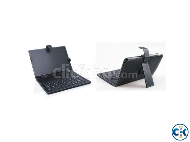 7 Inch Tab Cover with Keyboard | ClickBD large image 0