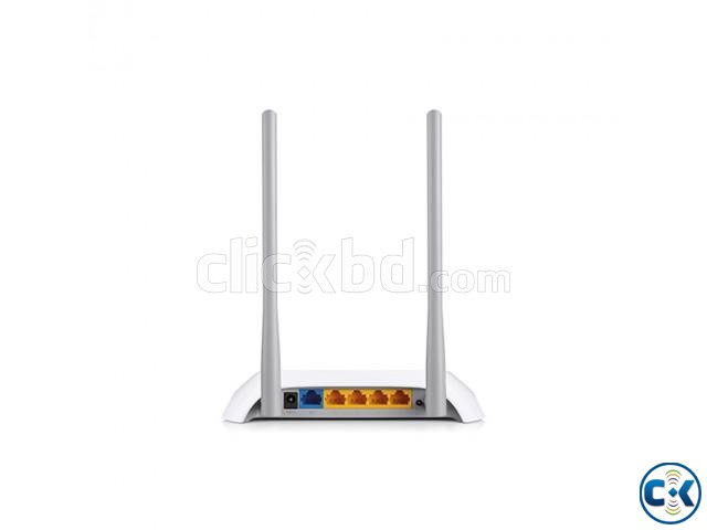 TP-LINK TL-WR840N 300 Mbps Wireless N Router | ClickBD large image 1