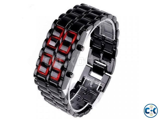 Japanese-Samurai digital LED watch. | ClickBD large image 0