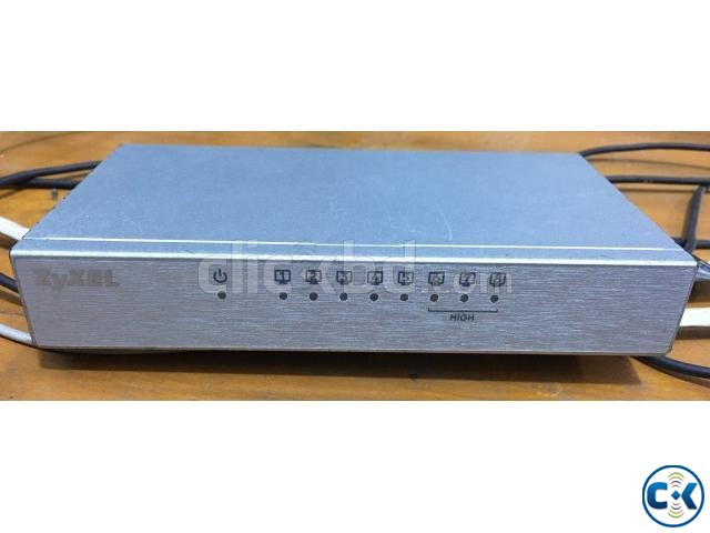 Zxcel 8 port switch | ClickBD large image 0