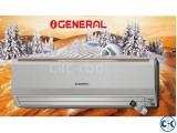 General 1.5 Ton AC ASGA18FMTA 150 Sqft Split Air Conditioner