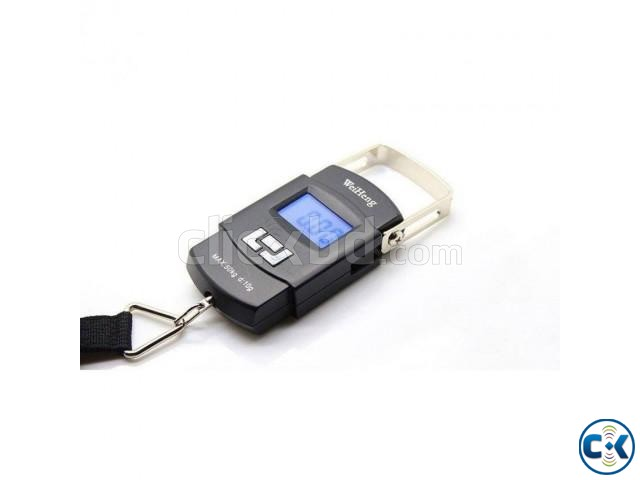 Digital Electronic Hanging Scales 50kg 10g | ClickBD large image 0