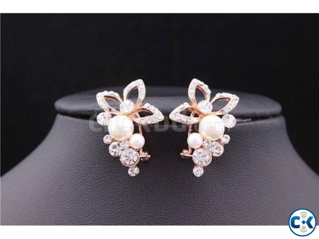 ER028 Gold Plated Earring | ClickBD large image 0