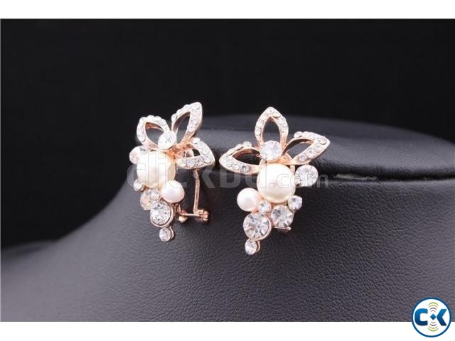 ER028 Gold Plated Earring | ClickBD large image 1