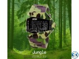 Multi-Color Stealth Fighter Watch Army Design