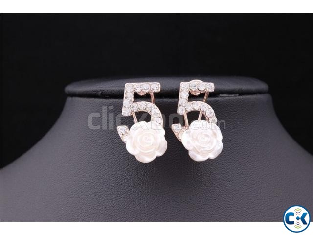 ER065 Gold Plated Earrings | ClickBD large image 1