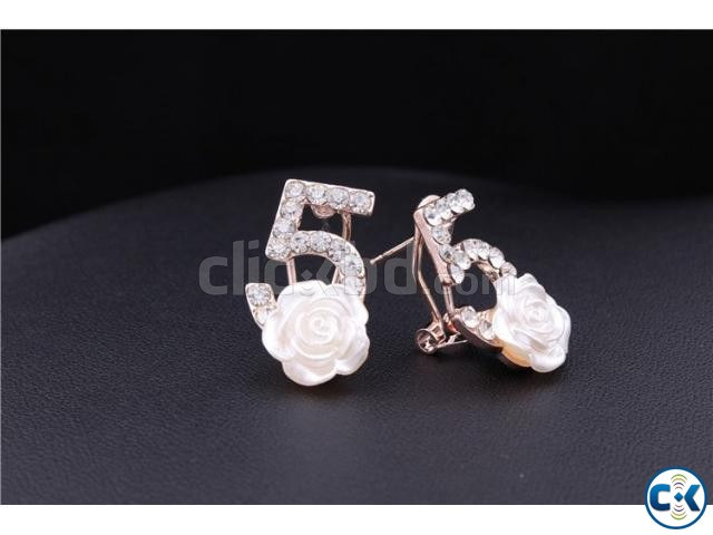 ER065 Gold Plated Earrings | ClickBD large image 2