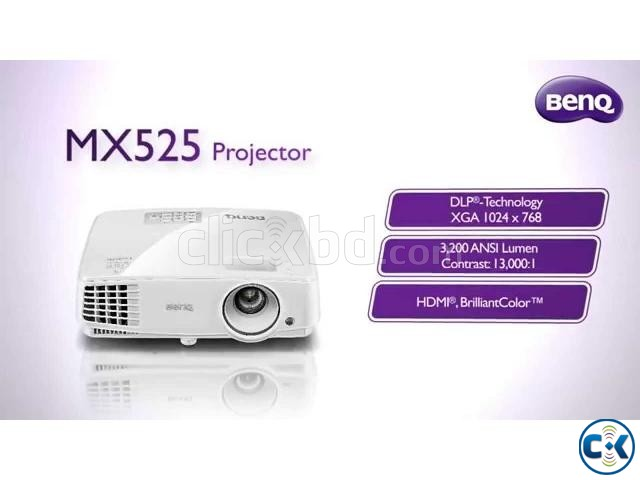 BenQ MX525 Projector FULL HD 3D | ClickBD large image 0