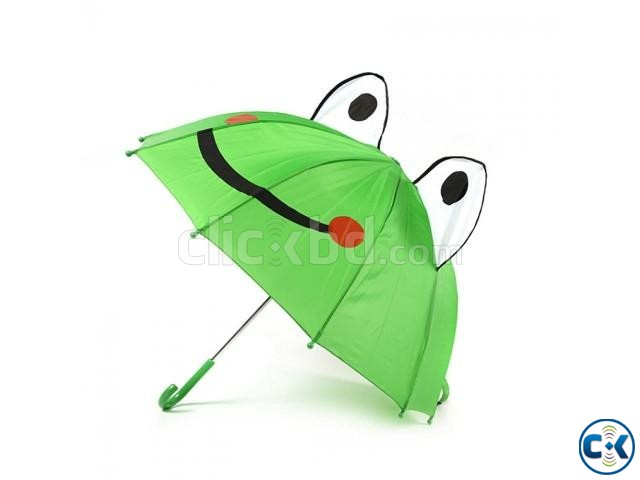 Frog Umbrella for Kids Only | ClickBD large image 0