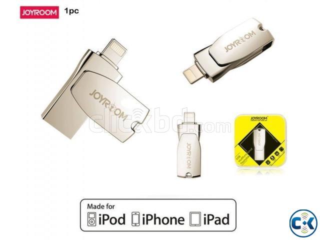 Joyroom 32GB Lightning OTG USB Flash Memory | ClickBD large image 0