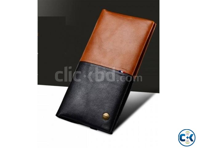 WUW Universal Leather Cardholder Wallet | ClickBD large image 1
