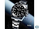 Rolex Pure Black Dialer