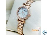Cartier White Dial Women s Wrist Watch