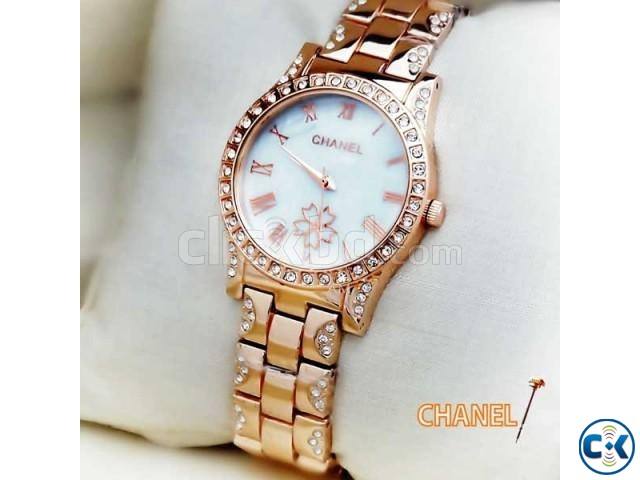 CHANEL White Dial Women s Wrist Watch | ClickBD large image 0