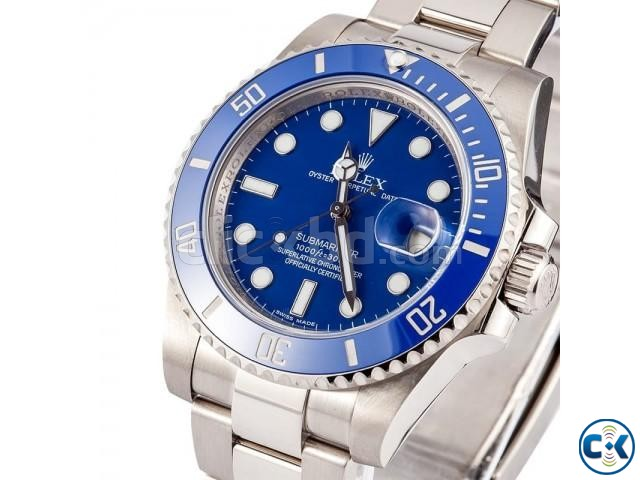 ROLEX SUBMARINER MENS WATCH WITH DATE FUNCTION | ClickBD large image 1