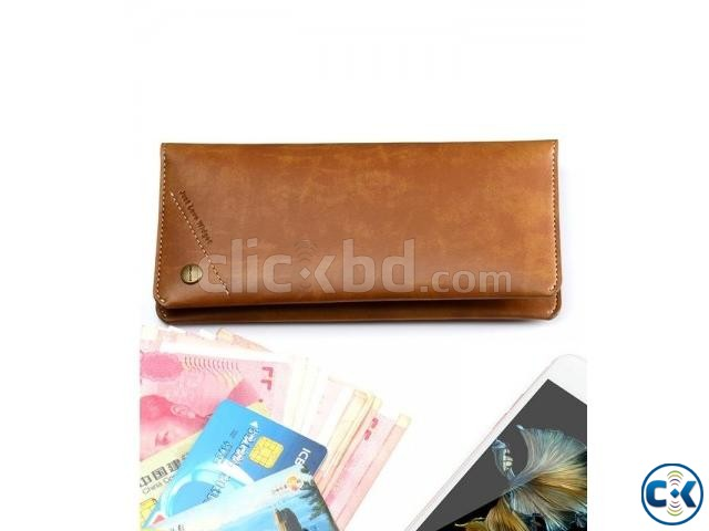 JLW Fashionable and multi-function Leather wallet | ClickBD large image 0