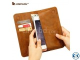 Jisoncase Quality Handmade Bifold Leather Wallet