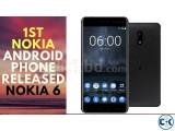 Brand New NOKIA 6 64GB Sealed Pack 1 Yr Warranty