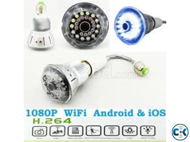 WIFI LED light bulb ip Camera intact Box | ClickBD large image 0