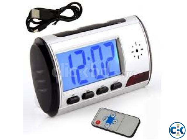 spy camera Digital Alarm Clock | ClickBD large image 0
