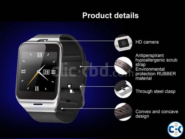 Smart watch phone with Camera QUHH315997  | ClickBD large image 2