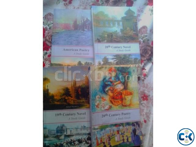 English Honors 4th Year Books | ClickBD large image 1