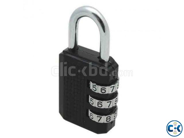 Combination Lock for Bag | ClickBD large image 0
