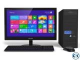 Desktop Core i3 H61 500GB DVD 4GB RAM 17 LED 01748626195