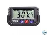 Taksun Quartz LCD Clock Stopwatch-C 0163
