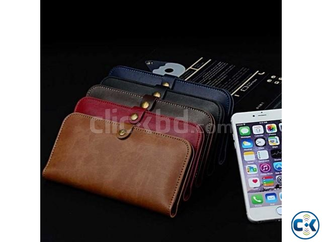JLW Wallet Leather Protective Cover Business Style only | ClickBD large image 0