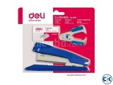 Free shiiping Deli 0244 Korea cartoon bear mini stapler 12