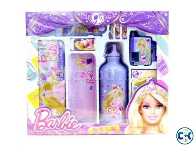 Barbie Theme Study Kit Box Purple  | ClickBD large image 0
